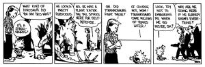 Calvin & Hobbes - museum 2